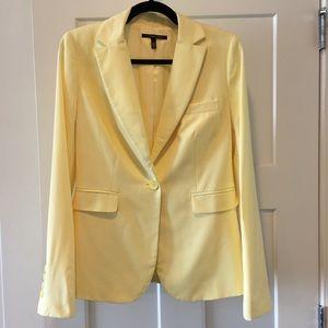 Victoria's Secret pastel yellow blazer